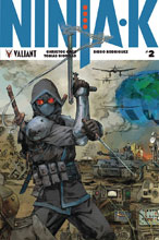 Image: Ninja-K #2 (cover D incentive Interlocking - Rocafort) (20-copy) - Valiant Entertainment LLC