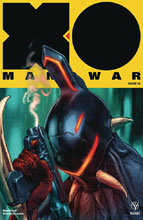 Image: X-O Manowar #10 (2017) (cover A - Larosa)  [2017] - Valiant Entertainment LLC