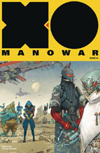 Image: X-O Manowar #10 (2017) (cover B - Rocafort) - Valiant Entertainment LLC