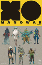 Image: X-O Manowar #10 (2017) (cover C incentive - Character Design Rocafort) (20-copy) - Valiant Entertainment LLC