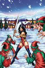 Image: Grimm Fairy Tales 2017 Holiday Special  (cover A - Silva) - Zenescope Entertainment Inc