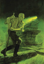Image: Doc Savage Double-Novel Vol. 07 SC  (variant cover - Bama) - Sanctum Productions