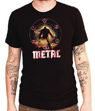 Image: Dark Nights: Metal Tour T-Shirt  (L) - Graphitti Designs