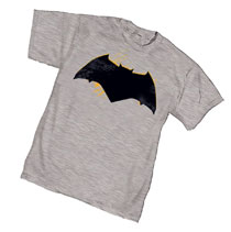 Image: Batman T-Shirt: Movie Symbol  (L) - Graphitti Designs