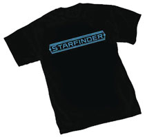 Image: Starfinder T-Shirt: Logo [Black]  (S) - Off World Designs