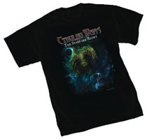 Image: Cthulhu Wars T-Shirt [Black]  (XL) - Off World Designs