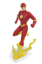 Image: DC Gallery JLA The Animated Series PVC Figure: Flash  - Diamond Select Toys LLC