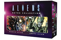 Image: Aliens Retro Figure Collectible #1 (Mantis & Snake Set) - Eaglemoss Publications Ltd