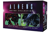 Image: Aliens Retro Figure Collectible #2 (Bull & Gorilla Set) - Eaglemoss Publications Ltd