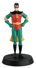 Image: DC Batman The Animated Series Figure Collectible #6 (Robin) - Eaglemoss Publications Ltd