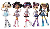 Image: Kuu Kuu Harajuku Fashion Doll Assortment  - Mattel Toys