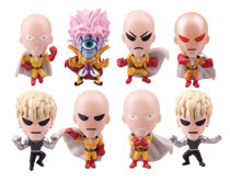 Image: One Punch Man Buildable Figures 24-Piece Blind Mystery Box Display  - Ucc Distributing