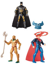 Image: Justice League Movie 6-inch Basic Action Figure Assortment 201701  - Mattel Toys