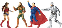 Image: Justice League Movie 6-inch Deluxe Action Figure Assortment 201701  - Mattel Toys