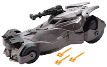 Image: Justice League Movie 6-inch Scale Batmobile Case  - Mattel Toys