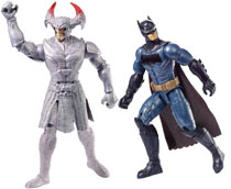 Image: Justice League Movie Action Figure  (12-inch) 2-Pack Battle Box Case - Mattel Toys