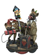 Image: DC Super Powers Collectible Maquette: Hyenas  (Bud & Lou) - Tweeterhead