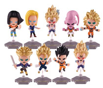 Image: Dragonball Z Buildable Figures 24-Piece Blind Mystery Box Display Series 2  - Ucc Distributing