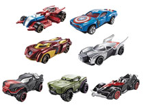 Image: Hot Wheels Marvel Character 1/64-Scale Car Assortment  - Mattel Toys