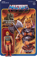 Image: Masters of the Universe 3.75-inch Reaction Figure Wave 3: Battle Armor He-Man  - Super 7