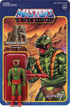 Image: Masters of the Universe 3.75-inch Reaction Figure Wave 3: Kobra Khan  - Super 7