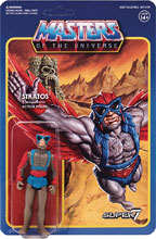 Image: Masters of the Universe 3.75-inch Reaction Figure Wave 3: Stratos  - Super 7