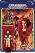 Image: Masters of the Universe 3.75-inch Reaction Figure Wave 3: Teela  - Super 7