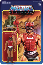 Image: Masters of the Universe 3.75-inch Reaction Figure Wave 3: Zodac  - Super 7