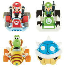 Image: Nintendo Tape Racers Wv3 Assortment  - Jakks Pacific