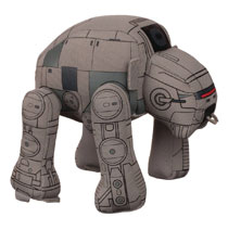 Image: Star Wars: E8 Vehicle Plush: Gorilla Walker  - Comic Images