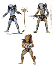 Image: Alien vs. Predator Arcade Predator Figure 7-inch Scale Action Figure Assortment  - Neca