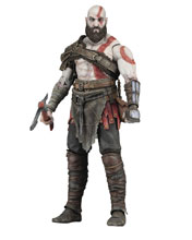 Image: God of War 2018 Action Figure: Kratos  (7-inch Scale) - Neca