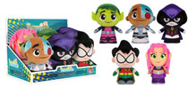 Image: Funko Plush Teen Titans Go! 6-Piece Plush Display  - Funko