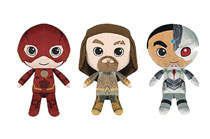 Image: Hero Plushies Justice League Movie 9-Piece Plush Display  - Funko