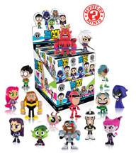 Image: Mystery Minis Teen Titans Go 12-Piece Blind Mystery Box Display  - Funko