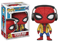 Image: Pop! Spider-Man Homecoming Vinyl Figure: Spider-Man  (w/Headphone) - Funko