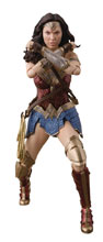 Image: Justice League Movie S.H.Figuarts Action Figure: Wonder Woman  - Tamashii Nations