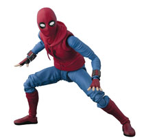 Image: Spider-Man Homecoming S.H.Figuarts Action Figure: Spider-Man  (Home Made Suit version) - Tamashii Nations