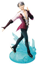 Image: Yuri on Ice PVC Figure: Victor Nikiforov  (1/8-scale) - Hobby Max