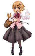 Image: Is the Order a Rabbit PVC Figure: Cocoa  (Cafe Style version) (1/7-scale) - Plum