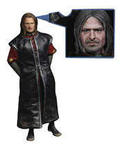 Image: Lord of the Rings Action Figure: Boromir  (w/Sculpted Hair) (1/6-scale) - Asmus Toys, Inc.