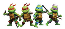 Image: TMNT Mini Series MHMF-302 4-Pack Action Figure Set  - Hero Cross Co. Ltd
