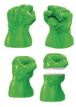Image: Marvel Lidded Jar: Marvel Comics - Hulk Fist  - Surreal Entertainment