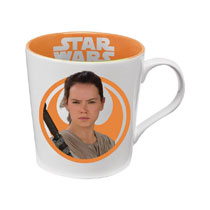 Image: Star Wars Ceramic Mug: Rey  (12-ounce) - Vandor LLC