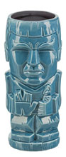 Image: Star Trek Geeki Tiki Glass: Mr. Spock  - Beeline Creative Inc.