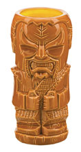 Image: Star Trek Geeki Tiki Glass: Klingon  - Beeline Creative Inc.