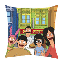 Image: Bob's Burgers Family Pillow: Belcher  - Surreal Entertainment