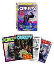 Image: Creepy Card Set  -