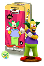 Image: Simpsons Classic Character Statue #6: Krusty the Clown  -