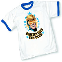 Image: Booster Gold Fan Club by Jurgens T-Shirt  (XL) - Graphitti Designs